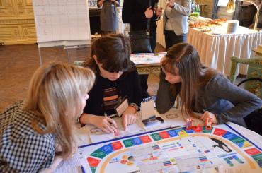 Бизнес-завтрак, обновленная бизнес-симуляция Management Puzzle